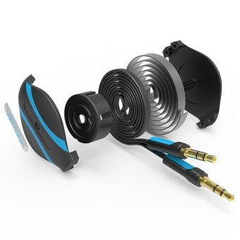 Vention 3.5mm Jack Male To Male Flexible Retractable Stereo AuxAudio Cable Cord - intl - 5