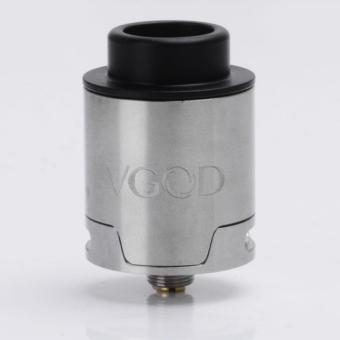 VGOD Pro Drip Style RDA Rebuildable Dripping Atomizer - Silver, Stainless Steel, 24mm Diameter