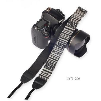 Vintage and fashionable style Camera Strap Vintage Neck Sling Camera Straps for Canon for Nikon for Pentax for Sony SLR DSLR(LYN-206) - intl