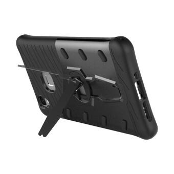 Vivo V3 Case, [Kickstand Feature] Rotate Stand Holder ProtectiveShell Hybrid Bumper Armor Rubber Shockproof Case Cover for Vivo V3- intl - 2