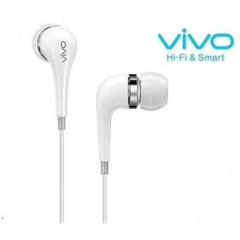 VIVO XE600 In-Ear Wired Headset Earphone In White