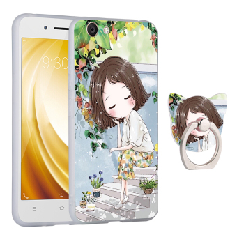 VIVO y53/y53l/y53a cute all-inclusive soft silicone phone case protective case