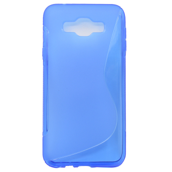Vococal Flexible Protective Case for Samsung Galaxy E7 (Blue)