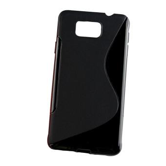 Vococal S Line Flexible Case for Samsung Galaxy Alpha (Black)