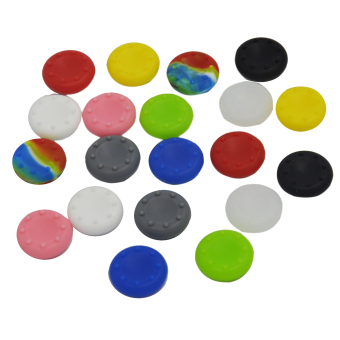 Vococal Silicone Analog Controller Thumb Stick Grips Cap Cover forSony Play Station 4 PS4 Set of 20
