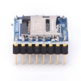 Voice Module Mp3 Sound U-Disk Audio Player Tf Sd Card Wtv020-Sd-16pFor Arduino - intl