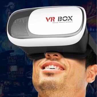 VR Box 3D Virtual Reality Glasses for Smartphone (White/Black) - 4