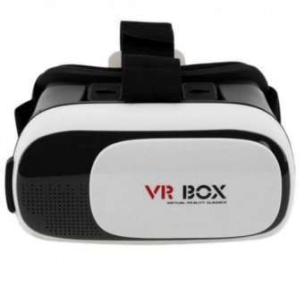 "VR BOX II Virtual Reality 3D Glasses for 3.5- 6.1"" Phone (White) Price Philippines"