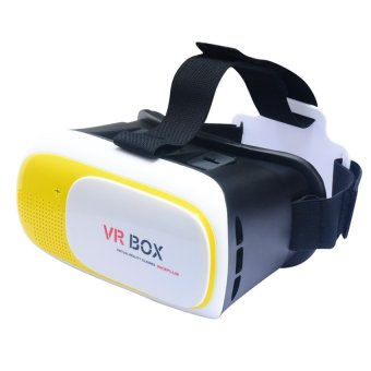 VR Box Plus 3D Virtual Reality Glasses (Yellow) Price Philippines