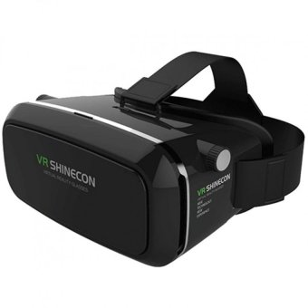 VR Box Shinecon Smartphone 3D Virtual Reality Glasses (Black) Price Philippines