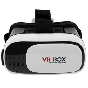VR BOX Virtual Reality 5031 Glasses For Mobiles Phone (White/Black)