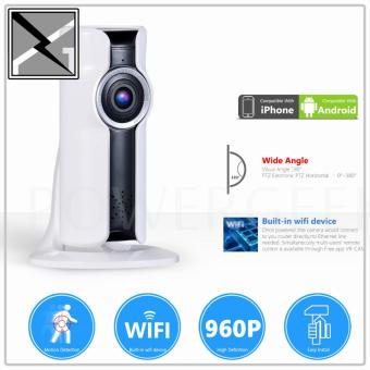 VR IP CAM 3D Stand Alone CCTV 180 Degrees View Camera Micro SD CardSlot Wifi Connection