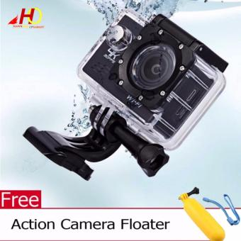 W8 4K 1080p Ultra HD DV 16MP WiFi Sports Action Camera (Black) w/ FREE Action Camera Floater