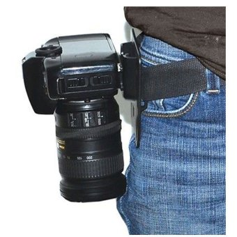 Waist Belt Mount Holster Quick Strap Holder Buckle Hanger Clip forDSLR Camera - 3