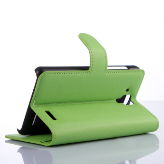 Wallet Flip Leather Case with Card Bag Holder for Lenovo A536 - picture 2