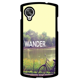 Wander Pattern Phone Case for LG Nexus 5 (Black) - picture 2