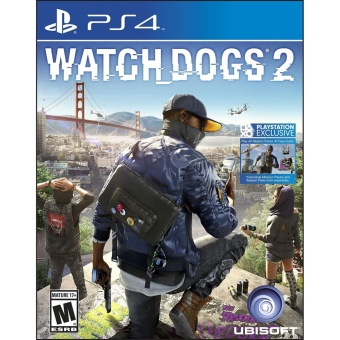 WATCH DOGS 2 (R3) PS4 GAME MINT CONDITION