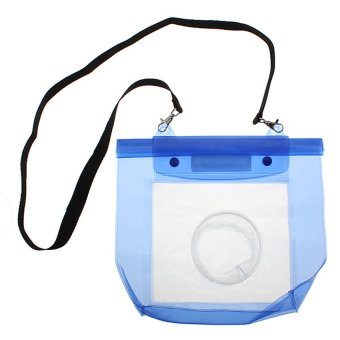 Waterproof 20M Housing Dry Bag Pouch for DSLR SLR Camera Canon EOSNikon (Blue)
