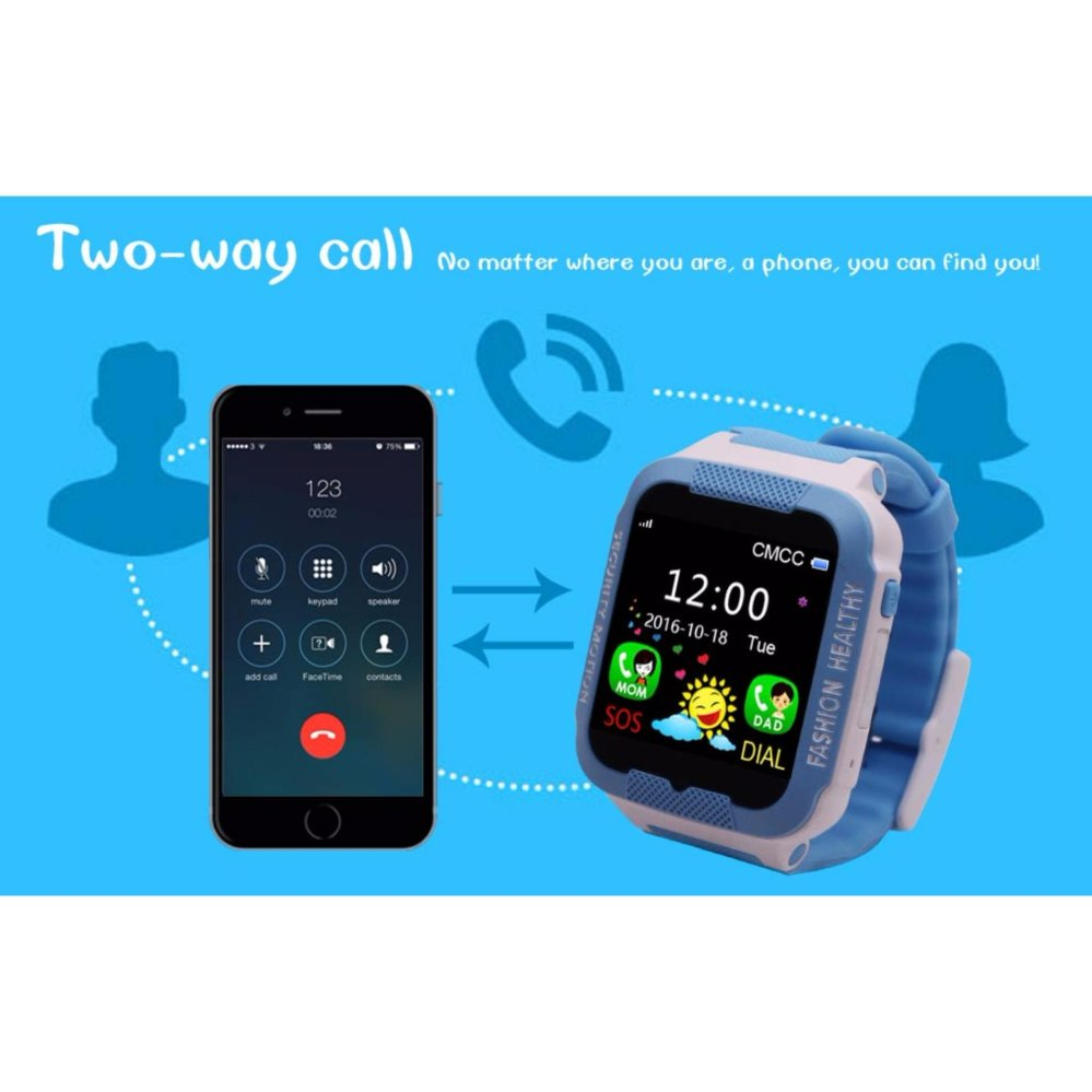 ... Waterproof C3 Smartwatch GPS Tracker kids Smart watch Phone Support SIM card Anti Lost SOS Call ...