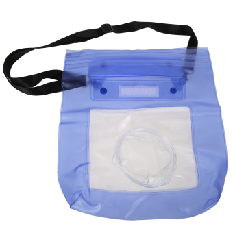 Waterproof DSLR Camera Underwater Pouch for Canon Blue (Intl) - 2