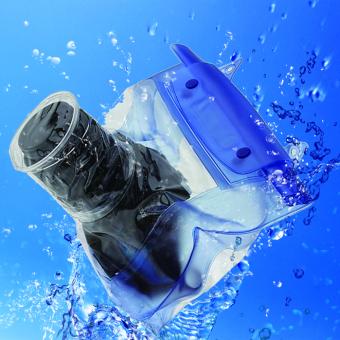 Waterproof DSLR SLR Camera Underwater Housing Case Pouch Dry Bag Canon - 5