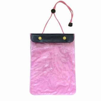Waterproof Gadget Pouch for Phones and Mini Tablets (Pink) ##0128