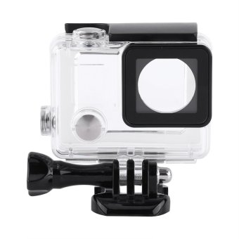 Waterproof Protective Housing Case Cover With Touch Screen Backdoor Cover For Gopro Hero 4/3+ - intl