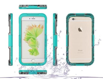 Waterproof Sports Diving Protective Case For Apple iPhone 6 / 6s (Mint Green)
