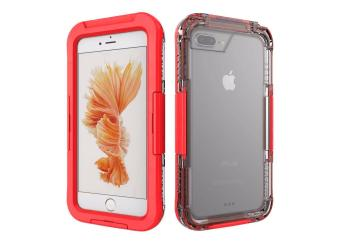 Waterproof Sports Diving Protective Case For Apple iPhone 7 Plus(Red) - 2