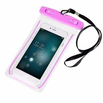 Waterproof Underwater Case Dry Pouch for Mobile Android Smartphone and iPhone 6 Plus, Samsung Phone and Apple Glow in the Dark