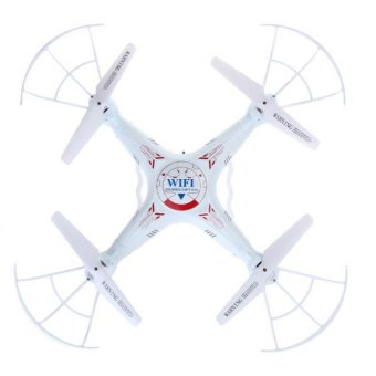 wawawei K300C 4-Channel Remote Control Wi-Fi Quadcopter (White)