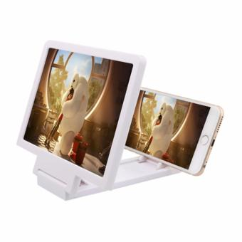 Wawawei Mobile Phone 3D Screen Enlarger (White) #29666 Price Philippines