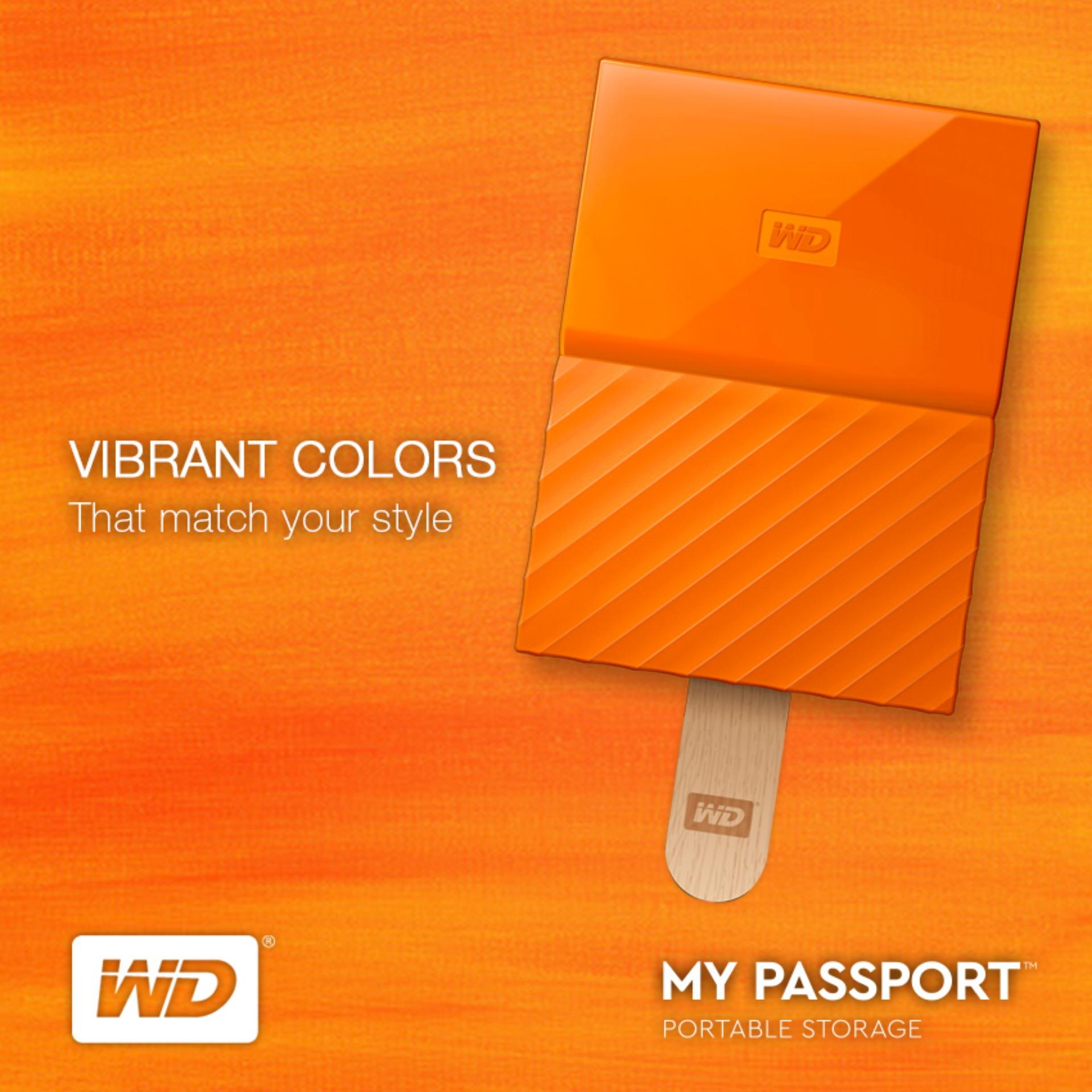 Wd My Passport 1tb Philippines 25 Usb 30 Portable External Hard Drive Wdbynn0010bor Wesn