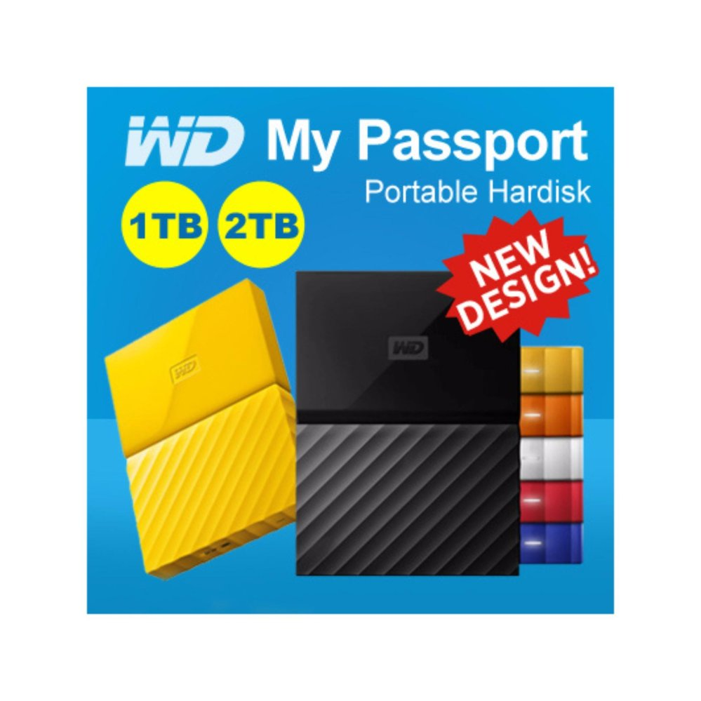 Promo Wd My Passport Ultra Update 2018 New Design2tb 25inch Usb30 Pouch Ori Pen Philippines 2017 1tb Usb 30 Portable Hard Drive White With Free