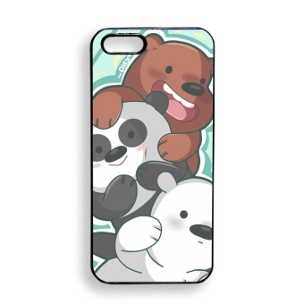 We Bare Bears Design Phone Case for Apple iPhone 5 / 5s