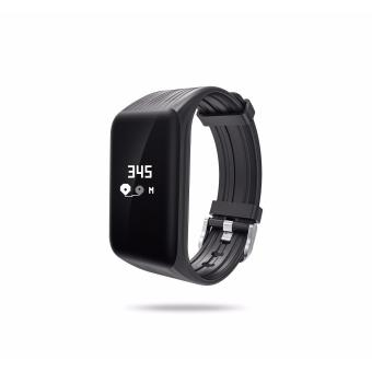 Wearfit Smart Band K1 Watch Continous Heart Rate Monitor forIOS/Android (Black)