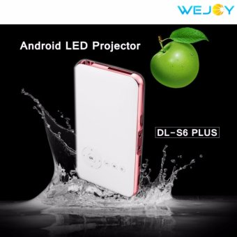 Wejoy 2017 Newest Home Projector Pico Beamer Android 4.4 LED DLPFull HD DL-S6 Plus 1G/32G Rom Price Philippines