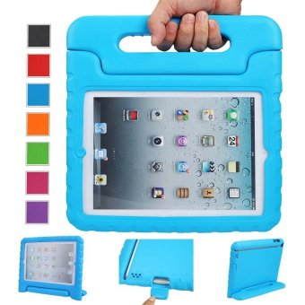 Welink Apple iPad 2/3/4 EVA Case / Shockproof Case Light WeightKids Case Super Protection Cover Handle Stand Case For Apple iPad2/3/4 (Blue)