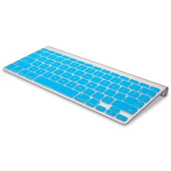 Welink Fashion Silicone US Keyboard Cover Waterproof KeyboardProtector Skin For Apple Macbook Air 13 Inch , Macbook Pro 13 Inch15 Inch And Imac (Aqua) - 3