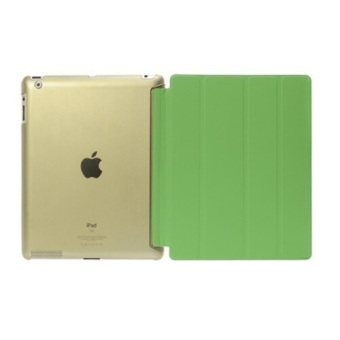 Welink Tablet Smart Cover + Slim Transparent Back Case for AppleiPad 2/3/4 (Green)