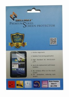Wellmax Screen Protector for Acer Iconia One 7 B1-770 (Clear)