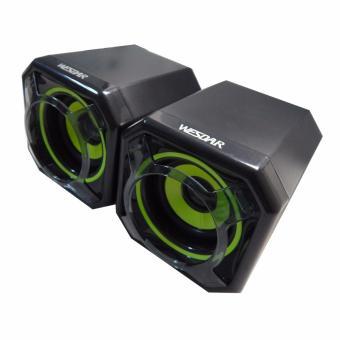 WESDAR Mobile Desktop Speakers SPK-344-V - 2