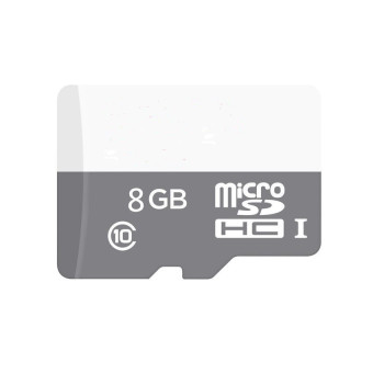 WHD 8GB Micro SD Card (grey white)