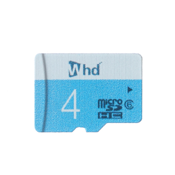 WHD SD04B 4GB Micro SD Card (Blue) - picture 2