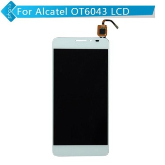 White Black For Alcatel One Touch Idol X+ X Plus OT6043 6043 6043DLCD Display Touch Screen Digitizer assembly+3m Tape+Opening RepairTools+glue - intl Price Philippines