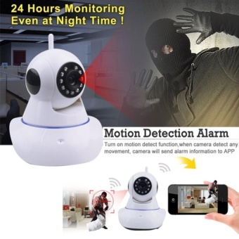 Wifi Camera Ip Home Security Camera 960P Baby Monitor Two Way Audio Night Vision 960P Network Cctv Indoor Surveillance with Free Awei ES70ty Super-Bass Noise-Isolating In-Ear Headphones (Black) - 5