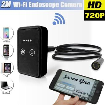 Wifi Wireless For iOS Android Endoscope HD 2.0MP 9mm 2m Inspection Camera Black - 2