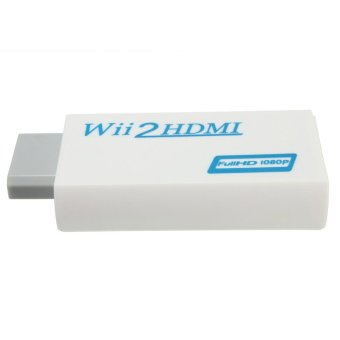 Wii to HDMI Wii2HDMI Full HD FHD 1080P Converter Adapter 3.5mm - 3