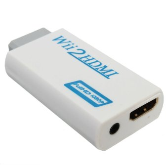Wii to HDMI Wii2HDMI Full HD FHD 1080P Converter Adapter 3.5mm - 2