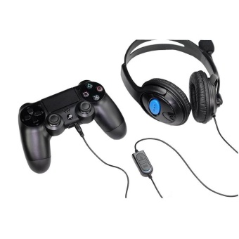 Wired Headset Headphone Earphone for Sony PlayStation4 PS4 - intl